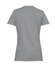 CANNOT SURVIVE ON WINE BUT ALSO NEEDS HUSKIES Ladies T-Shirt women-premium-crewneck-shirt-back