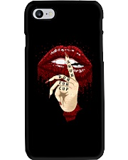 Tattoo dripping lips Phone Case thumbnail