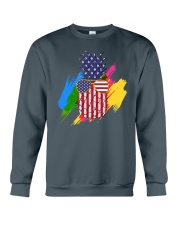 Perfect shirt for Independence Day - Pinapple Crewneck Sweatshirt tile