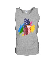 Perfect shirt for Independence Day - Pinapple Unisex Tank thumbnail
