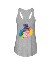 Perfect shirt for Independence Day - Pinapple Ladies Flowy Tank thumbnail