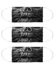 Metal Skull 4 Cloth Face Mask - 3 Pack front
