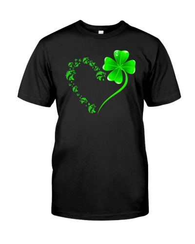 Fishing and shamrock