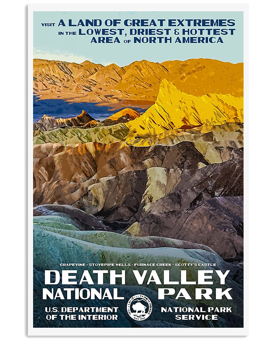 DEATH VALLEY 11x17 Poster