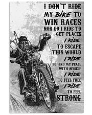 I RIDE 16x24 Poster front