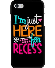 I'M JUST HERE FOR RECESS Phone Case thumbnail