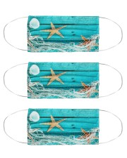 Starfish 4 Cloth Face Mask - 3 Pack front