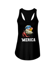 BALD EAGLE - INDEPENDENCE DAY Ladies Flowy Tank thumbnail