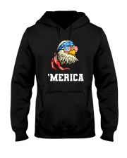 BALD EAGLE - INDEPENDENCE DAY Hooded Sweatshirt thumbnail