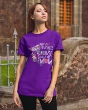 FAVORITE NURSE T-SHIRT Classic T-Shirt apparel-classic-tshirt-lifestyle-06