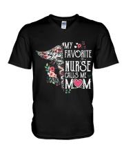 FAVORITE NURSE T-SHIRT V-Neck T-Shirt thumbnail