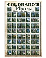 Colorado's 14ers 16x24 Poster front