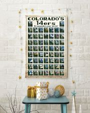 Colorado's 14ers 16x24 Poster lifestyle-holiday-poster-3