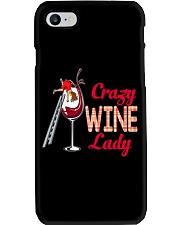 CRAZY WINE LADY Phone Case thumbnail