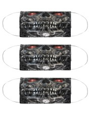Metal Skull 5 Cloth Face Mask - 3 Pack front