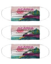 Acadia National park Cloth Face Mask - 3 Pack front
