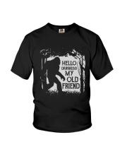 HELLO DARKNESS Youth T-Shirt thumbnail