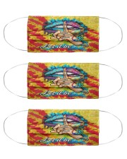 Hippie Life 5 Cloth Face Mask - 3 Pack front