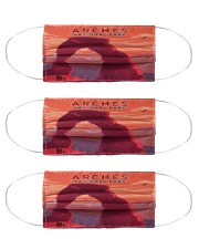 Arches National park Cloth Face Mask - 3 Pack front