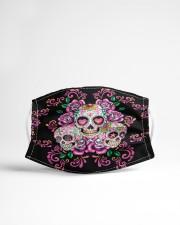La Catrina Skull 3 Cloth face mask aos-face-mask-lifestyle-22