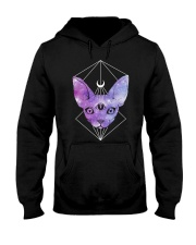 AWESOME TANK FOR CAT LOVERS Hooded Sweatshirt thumbnail