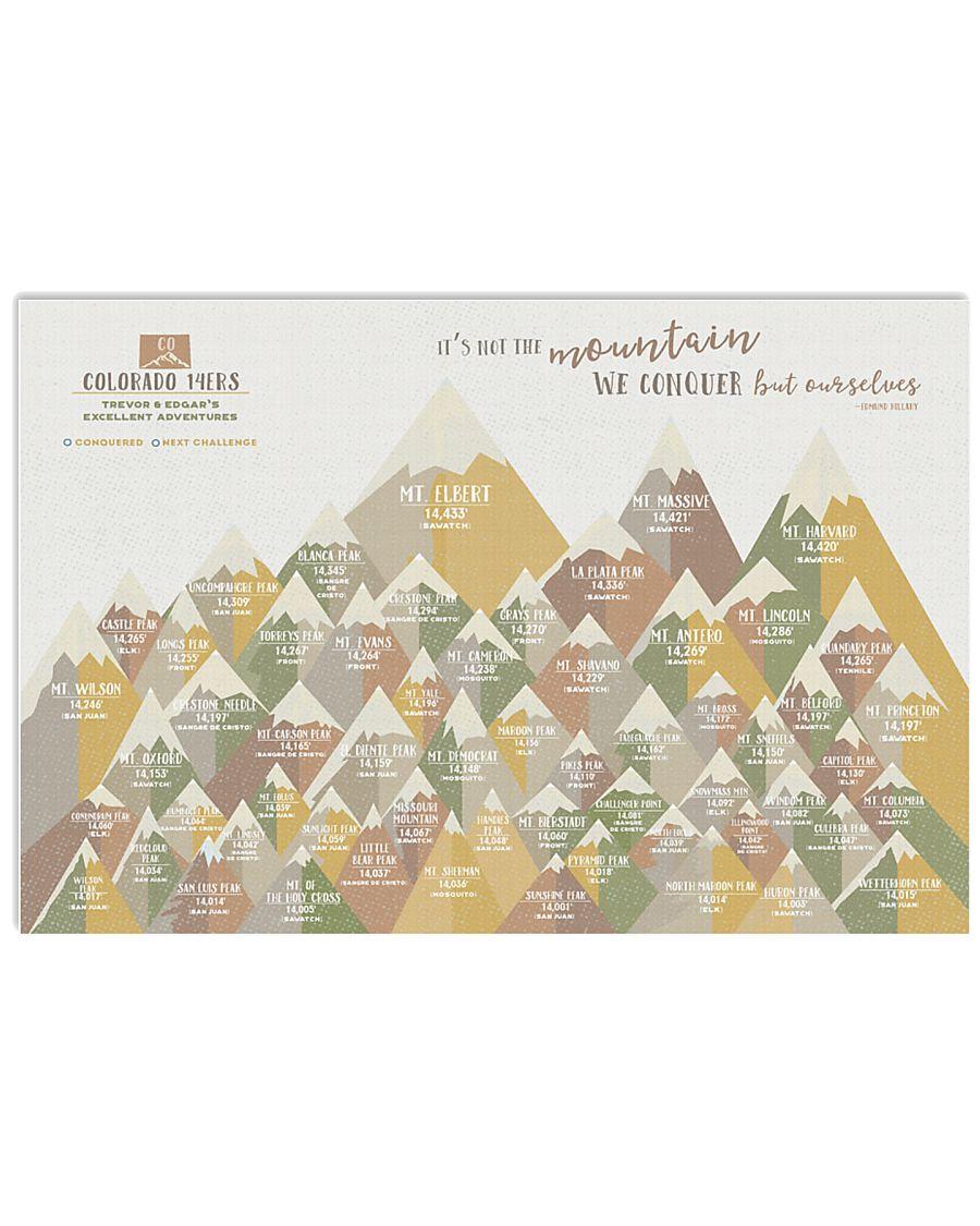 COLORADO MOUNTAINS POSTER  24x16 Poster