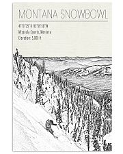 MONTANA SNOW BOWL POSTER 16x24 Poster front