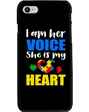 Her voice Phone Case thumbnail