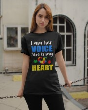 Her voice Classic T-Shirt apparel-classic-tshirt-lifestyle-19