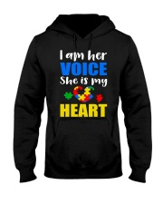 Her voice Hooded Sweatshirt thumbnail