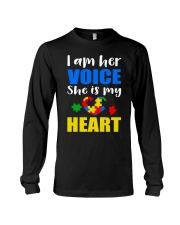 Her voice Long Sleeve Tee tile