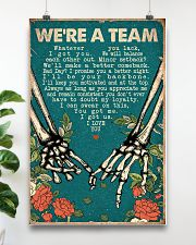 WE ARE A TEAM 16x24 Poster poster-portrait-16x24-lifestyle-17