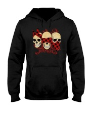 THREE SKULLS Hooded Sweatshirt thumbnail