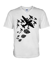 HOPS BOMBER MUG V-Neck T-Shirt thumbnail