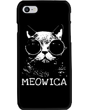 MEOWICA - BEST TANK FOR CAT LOVERS Phone Case thumbnail