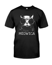 MEOWICA - BEST TANK FOR CAT LOVERS Classic T-Shirt thumbnail