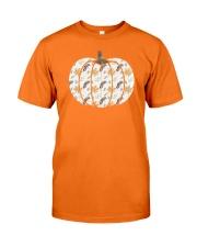 WHITE PUMPKIN HALLOWEEN Classic T-Shirt front