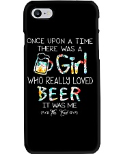 THERE WAS A GIRL WHO REALLY LOVED BEER Phone Case thumbnail
