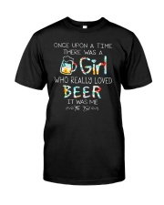 THERE WAS A GIRL WHO REALLY LOVED BEER Classic T-Shirt thumbnail