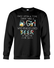 THERE WAS A GIRL WHO REALLY LOVED BEER Crewneck Sweatshirt thumbnail