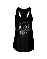 THERE WAS A GIRL WHO REALLY LOVED BEER Ladies Flowy Tank thumbnail