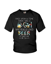 THERE WAS A GIRL WHO REALLY LOVED BEER Youth T-Shirt thumbnail