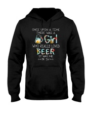 THERE WAS A GIRL WHO REALLY LOVED BEER Hooded Sweatshirt thumbnail