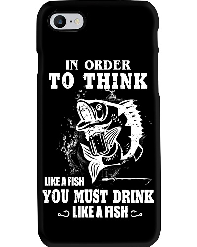 THINK - DRINK LIKE A FISH