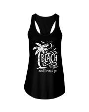 BEACH CALLING Ladies Flowy Tank front