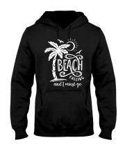 BEACH CALLING Hooded Sweatshirt front