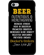 BEER NUTRITIOUS AND HEALTHGIVING Phone Case thumbnail