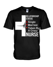 TAKEN BY NURSE T-SHIRT V-Neck T-Shirt thumbnail
