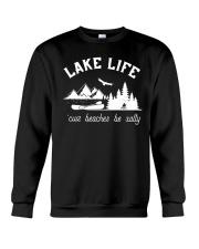 LAKE LIFE 'CUZ BEACHES BE SALTY Crewneck Sweatshirt thumbnail