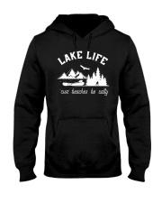 LAKE LIFE 'CUZ BEACHES BE SALTY Hooded Sweatshirt thumbnail